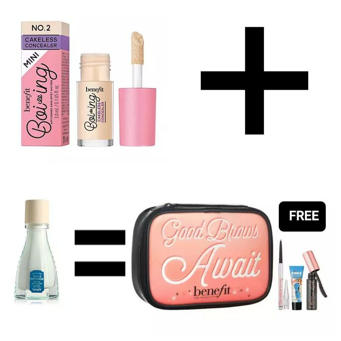 Buy 2 Benefit Qualifying Items & Receive Free Gift