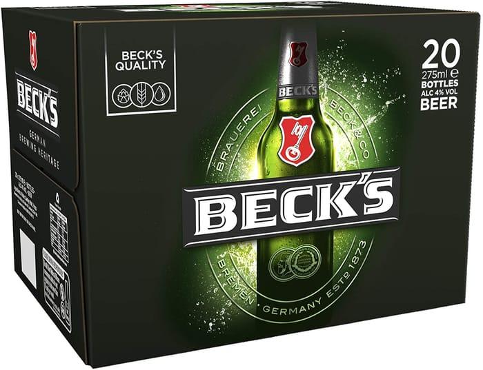 20 BECKS for £10