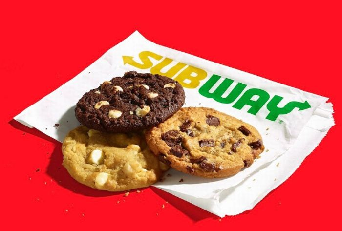 3 Free Cookies for New Subway App Users - Ends Sunday