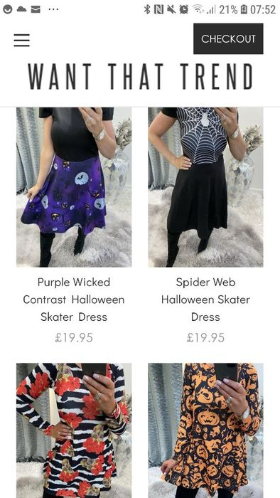 50% off Halloween Dresses