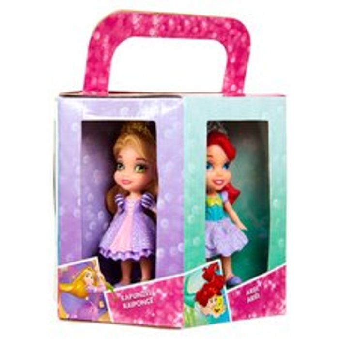 Further Reduced !!! Disney Princess 6 Mini Dolls