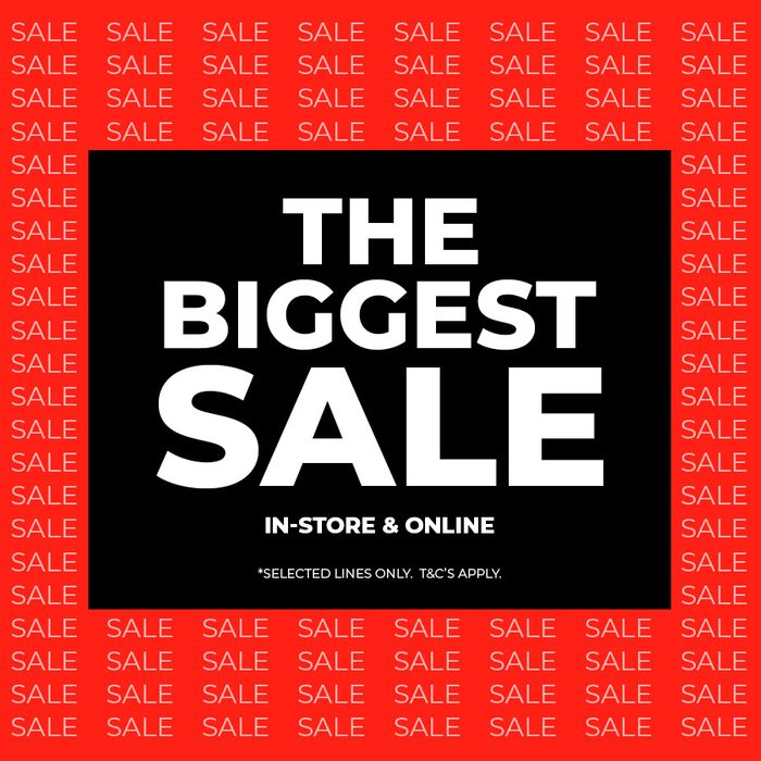 Peacocks 'The Biggest Sale' In Store And Online