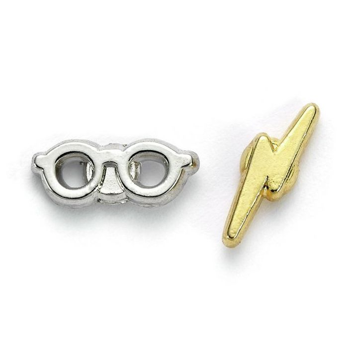 Harry Potter Glasses & Lightning Bolt Earrings