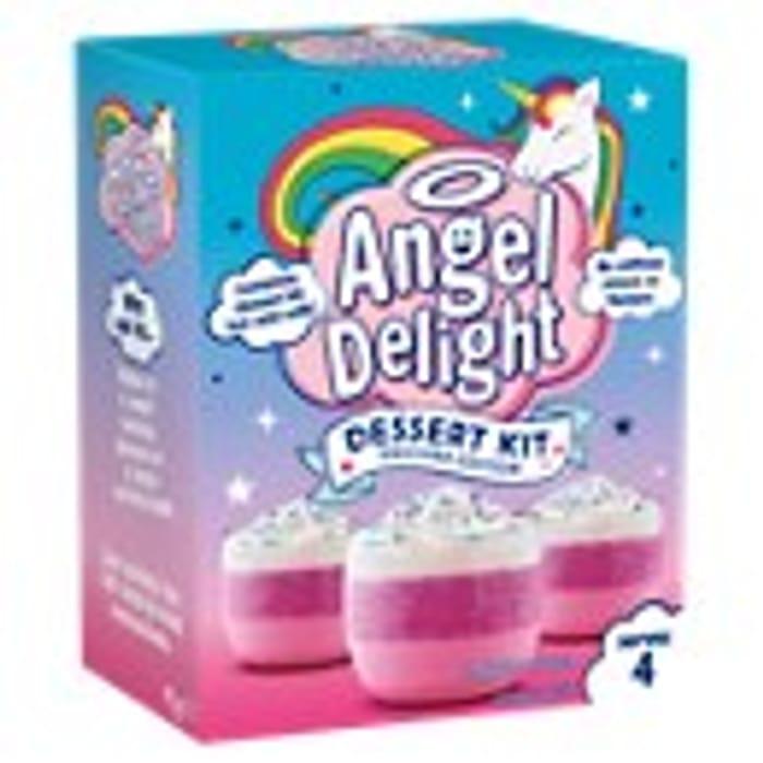 Angel Delight Unicorn Strawberry Dessert Kit