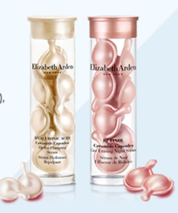 Free Hyaluronic Acid Ceramide and Retinol Ceramide Capsules with £75 Spend