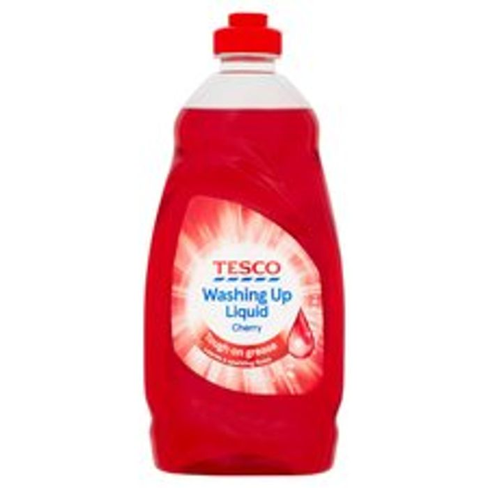 Tesco Red Cherry Washing up Liquid 450 Ml