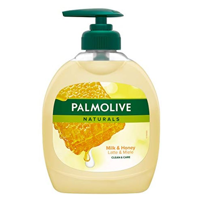 Palmolive Liquid Soap Milk and Honey - Pack of 12 X 300 Ml