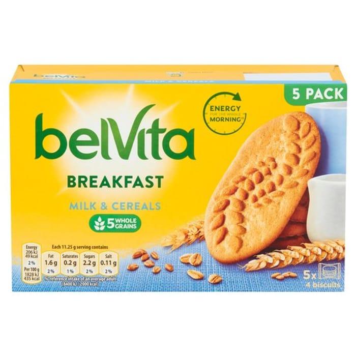 Belvita Biscuits 5 Pack 225g (All Varieties)