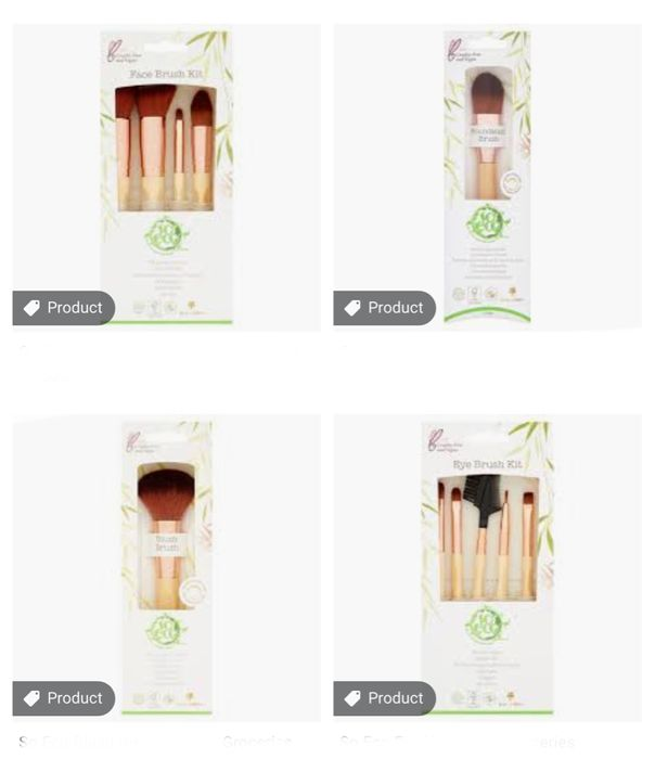 So Eco Makeup Brushes Clubcard Prices Start from £5.25
