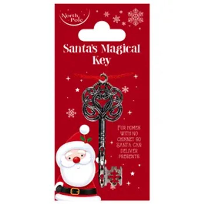 Santa's Magical Key *FOR HOMES WITH NO CHIMNEY!