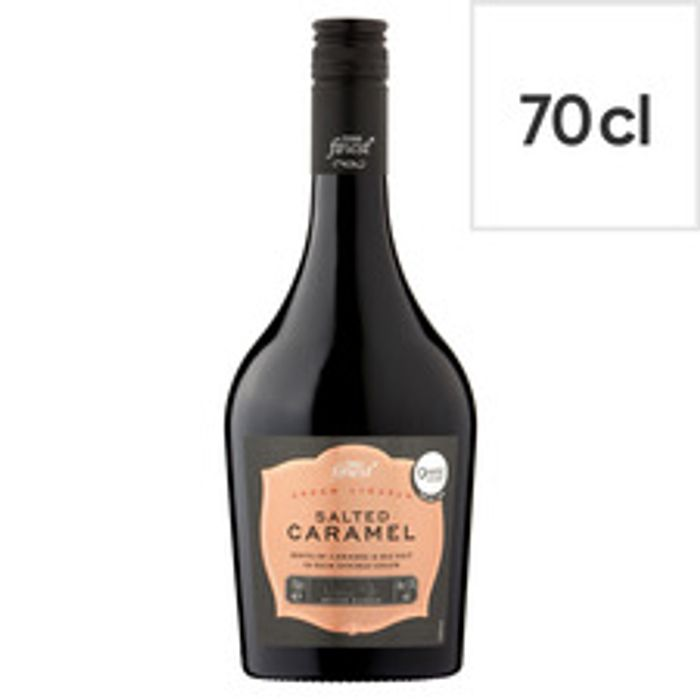 Tesco Finest Salted Caramel Cream Liqueur 70Cl