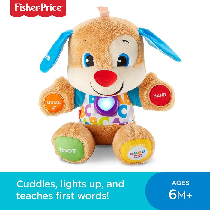 Fisher-Price Laugh & Learn Smart Stages Puppy 75+ Songs, Sounds, Tunes & Phrases