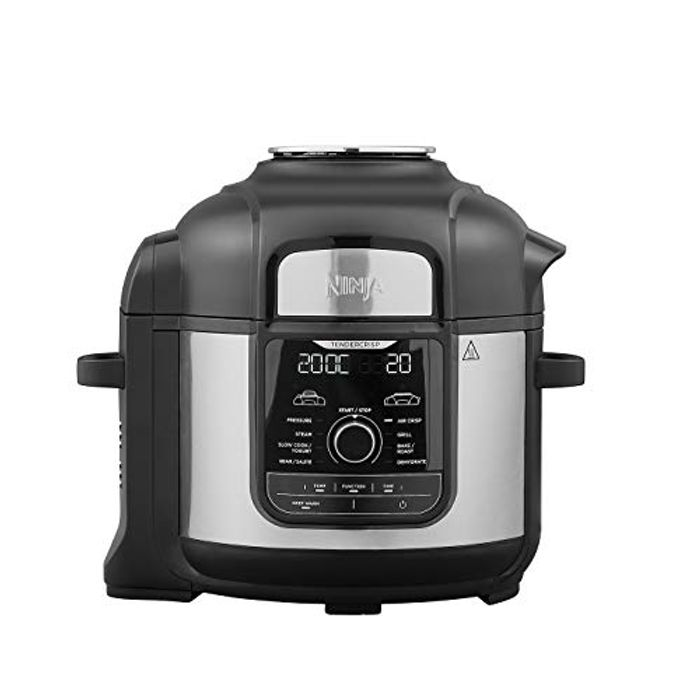 Ninja Foodi Max Multi-Cooker [OP500UK] Electric Pressure Cooker and Air Fryer,