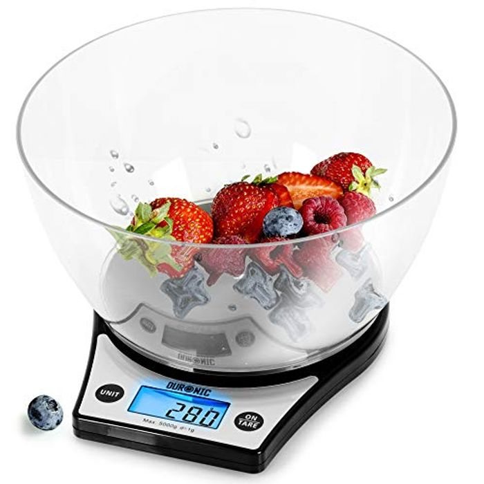 Digital Kitchen Scales KS6000 BK