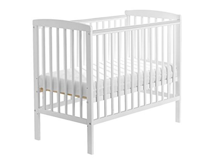 Kinder Valley Sydney Cot (White)