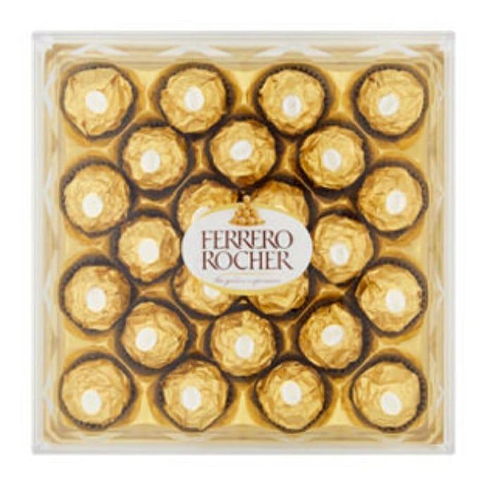 Ferrero Rocher Gift Box of Chocolate 24 Pieces