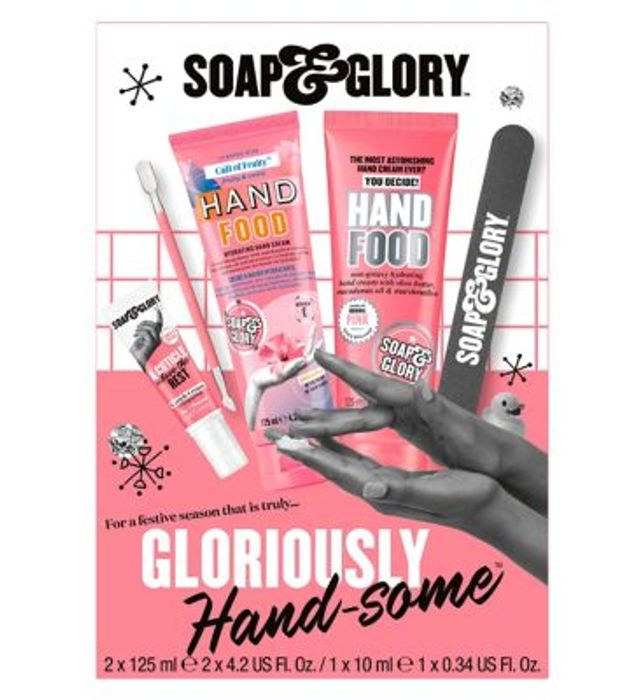 Soap & Glory Gloriously Hand-some Christmas Gift Set 3For 2