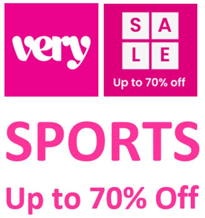 VERY SPORTS SALE - up to 70% OFF - Sportswear, Trainers & Sports Shoes