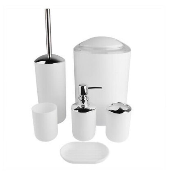 6Pcs/Set Bathroom Accessories