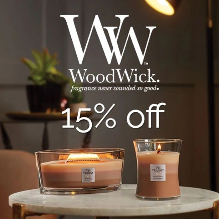 15% off Wood Wicks