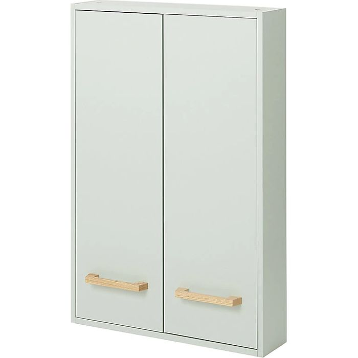 GoodHome Ladoga Green Double Door Wall Cabinet