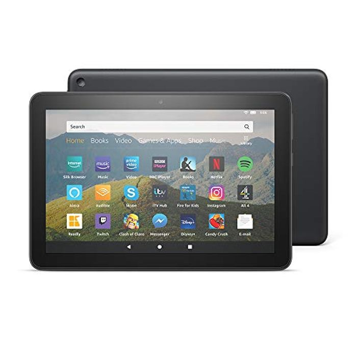 """All New Fire HD 8 Tablet 8"""" HD Display, 32 GB £44.99 via Alexa with Prime"""