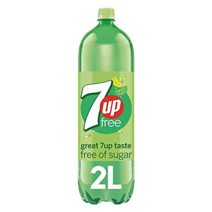 7UP Free - Lemon & Lime Flavoured Fizzy Sugar Free Drink 2 Litre - £1