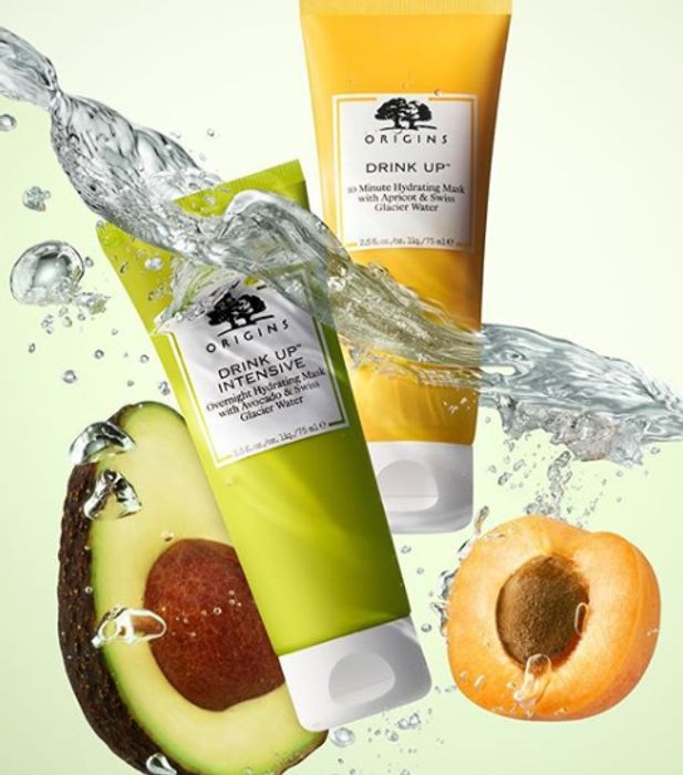 In Store Only - Free Origins Face Masks Sample