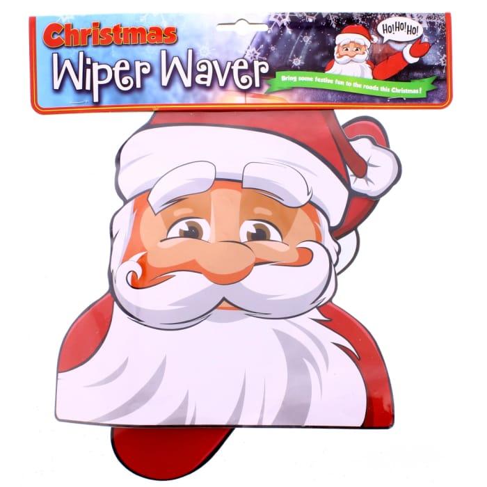 Xmas Santa Car Wiper Waver