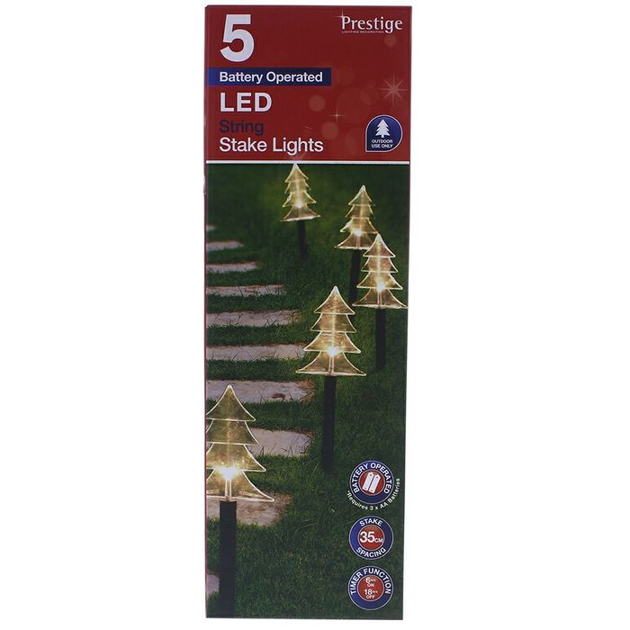 5 Led Stake Lights only Reindeer available.