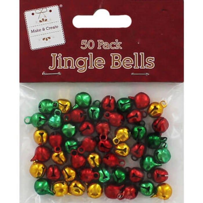 Mini Jingle Bells - Pack of 50