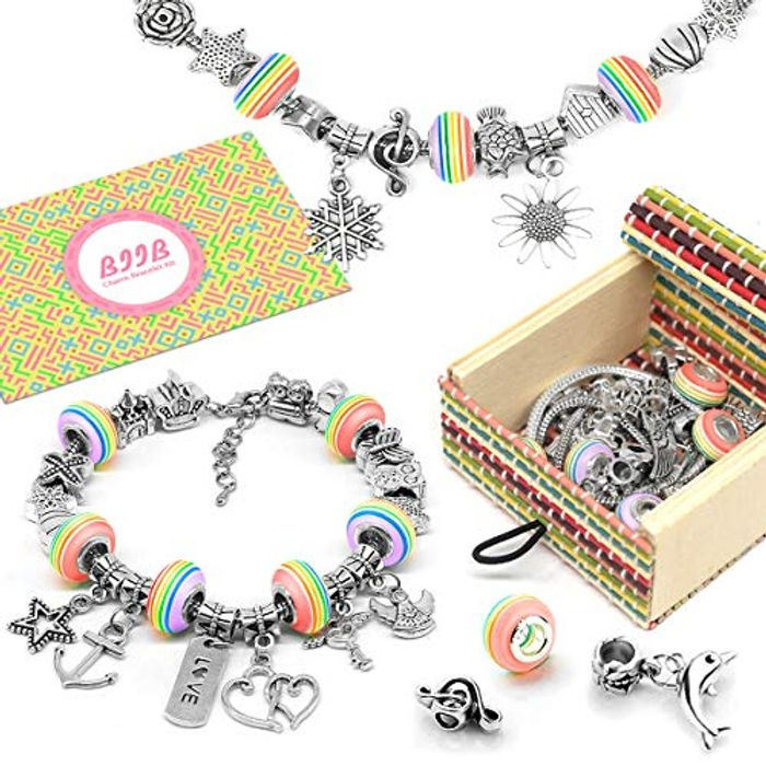 Girls Charm Bracelet Making Kit -