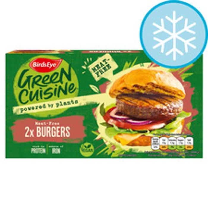 Birds Eye 2 Meat Free Burgers 200G (Clubcard Price)