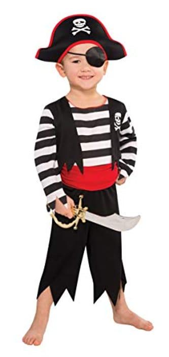 Children Rascal Deckhand Pirate Costume (4-6 Years)
