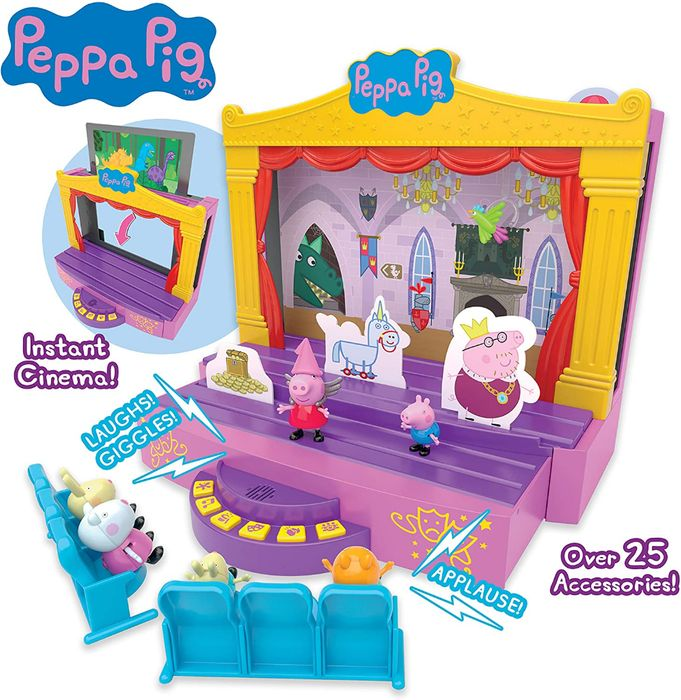***Lowest Ever Price*** Peppa Pig PEPPA'S STAGE PLAYSET - Save £27.00