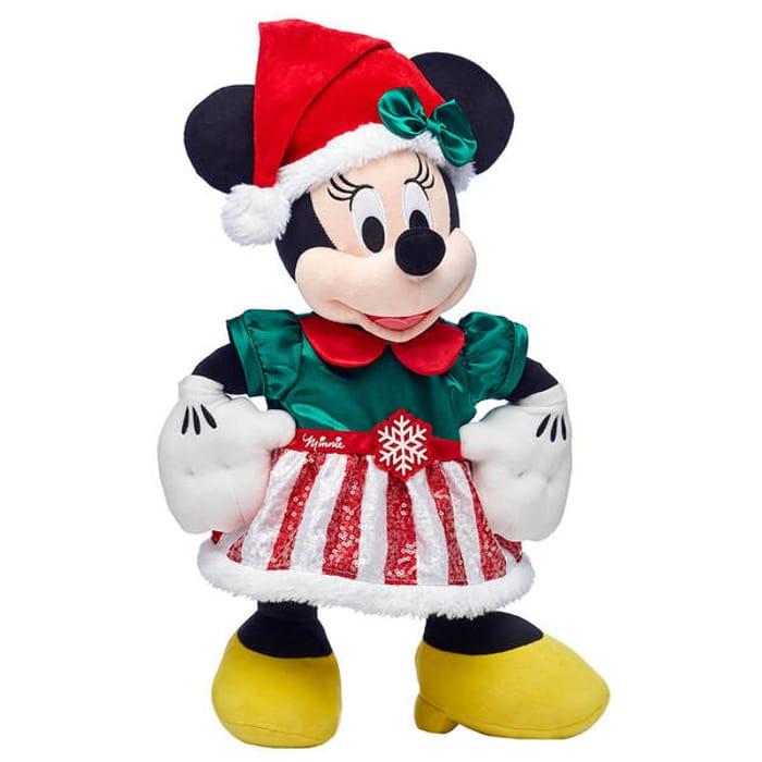 Build a Bear Disney Minnie Mouse Christmas Gift Set