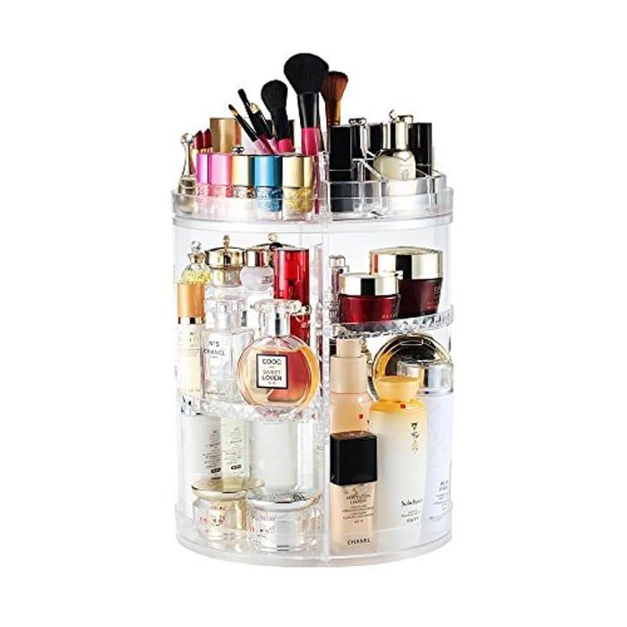 Rotating Makeup Organiser, Rotating 360