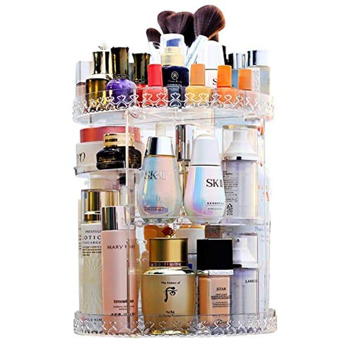Rotating Makeup Organizer 360 Degree