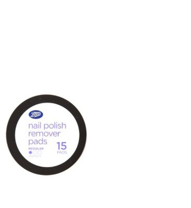 Boots Nail Polish Remover Pads 15 X 3 for £1.60