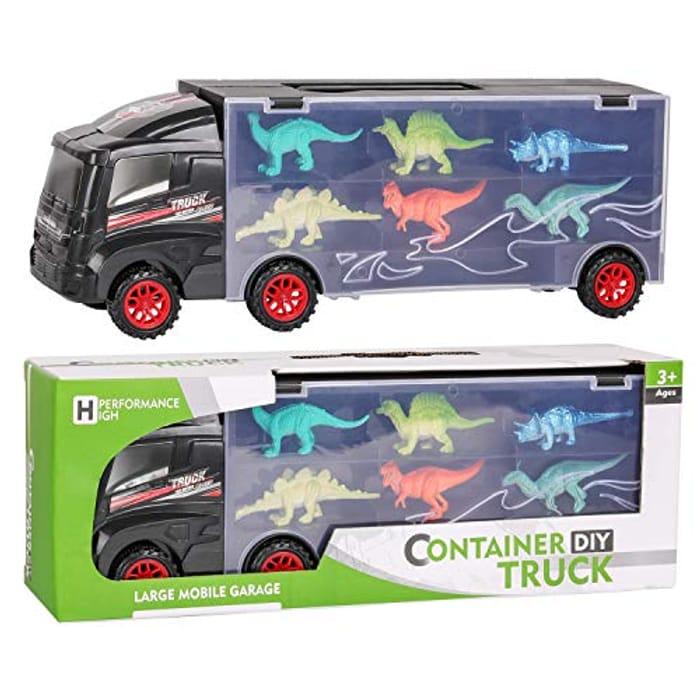 Run! Its a Dinosaur Truck