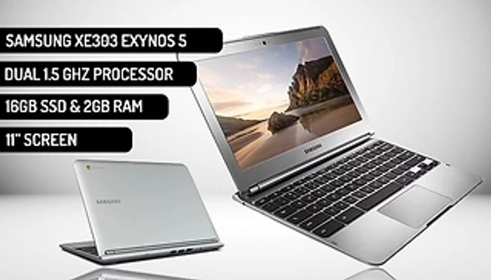11 Inch Samsung Chromebook XE303 with 2GB RAM & 16GB SSD
