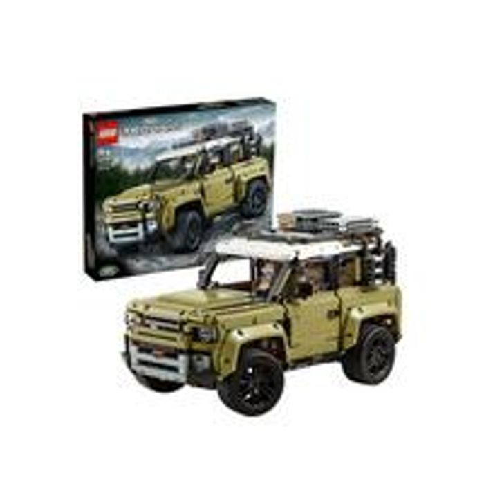 LEGO Technic 42110 Land Rover Defender 4x4 Car Model