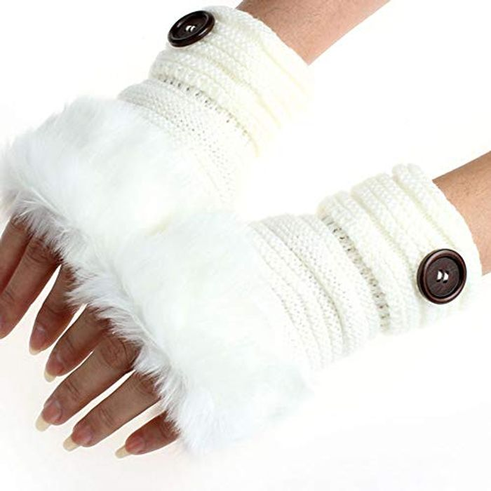 Ladies Fur Gloves