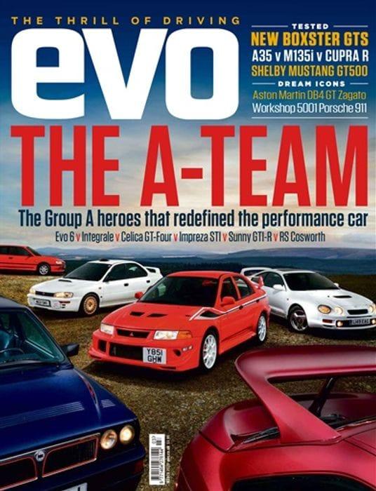 Free Copy of Evo Magazine.