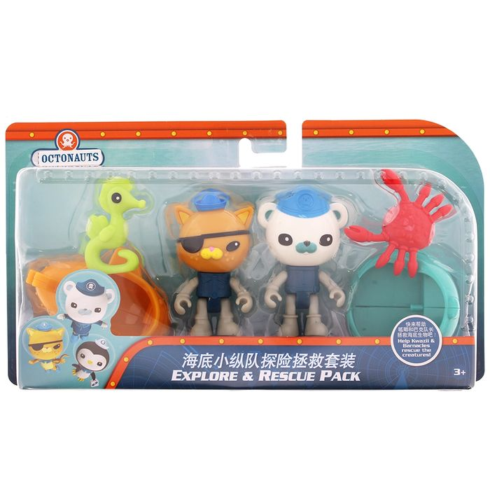 Octonauts Explore & Rescue Pack