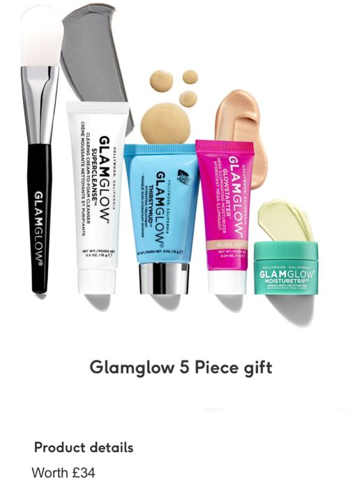 Free Gift worth £34 When You Spend £50 on Glamglow - While Stock Lasts