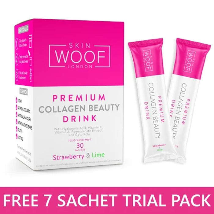 Free 7 Day Trial of Skin Woof Collagen Beauty Drink