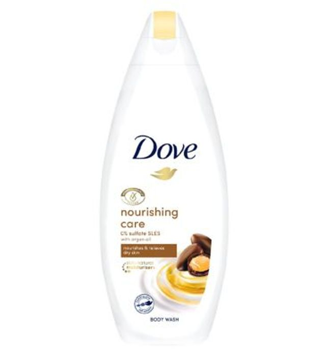 Dove Nourishing Argan Oil Body Wash 225ml