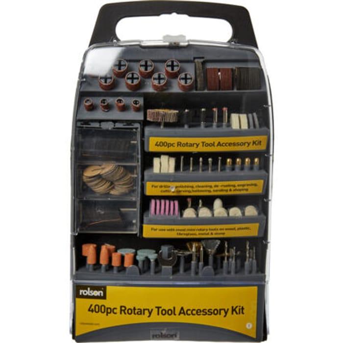 ROLSON 400 Piece Rotary Tool Accessory Kit