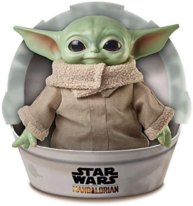 Roulette Star Wars the Child Plush Toy 11 Inch
